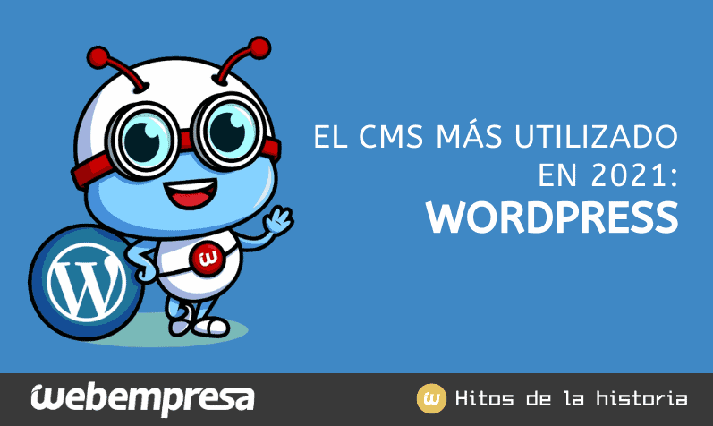 Increíbles estadísticas de WordPress en 2021