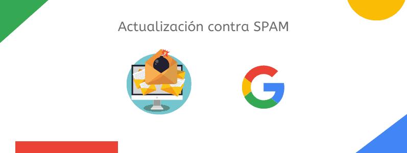 actualización contra spam