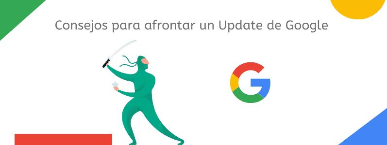 Consejos para afrontar update google