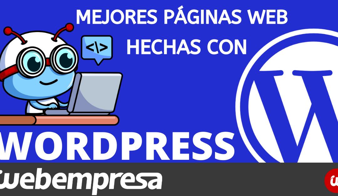 Mejores sitios creados con WordPress