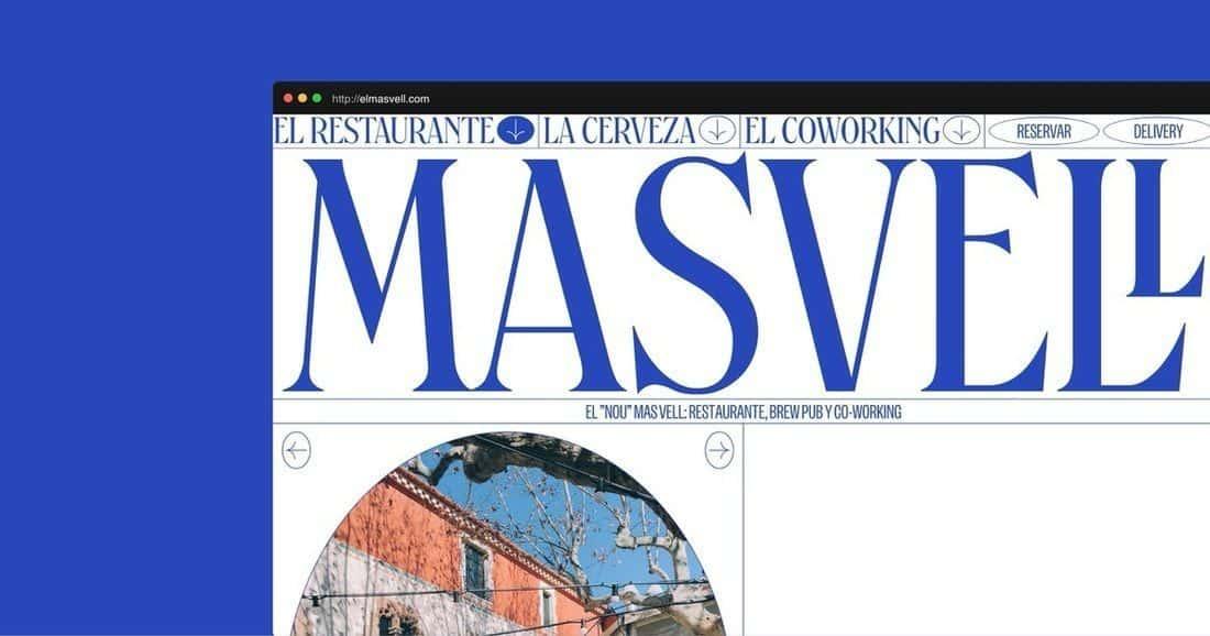 Página web El Masvell