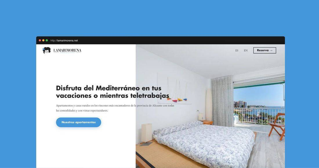 Página web La marimorena