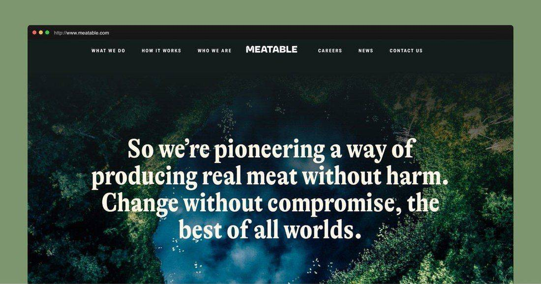 Página web Meatable