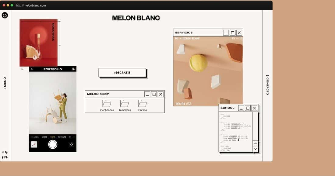 Página web Melón Blanc