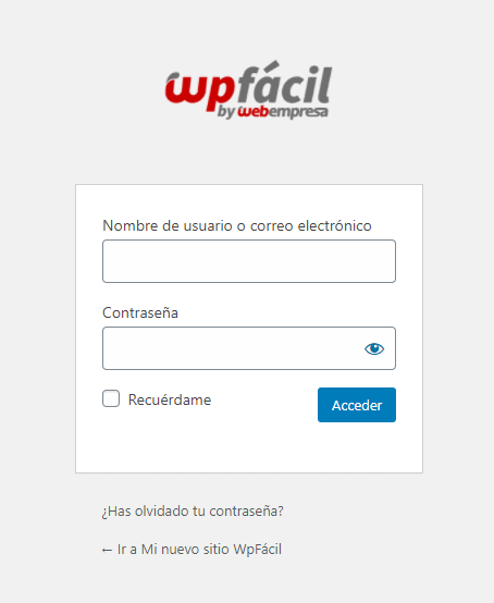 Modificar diseño de la página Wp-login