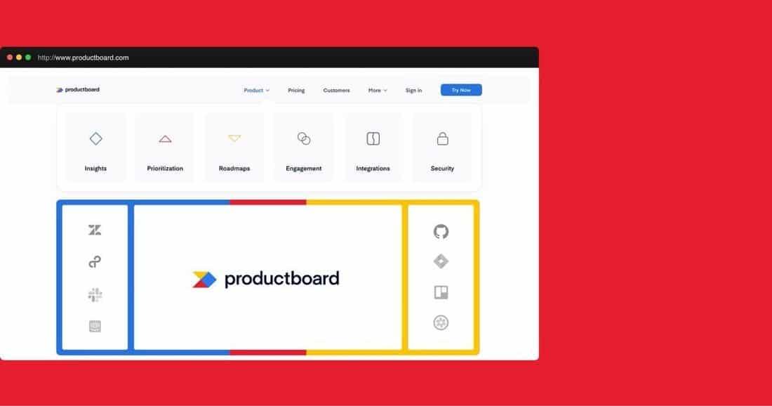 Página web Product Board