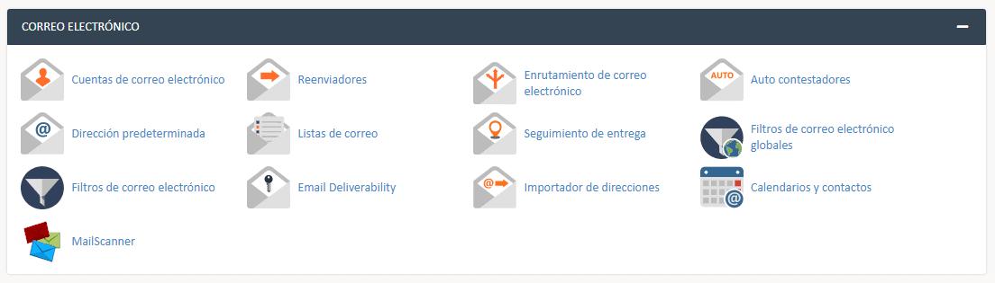 correo electrónico cpanel