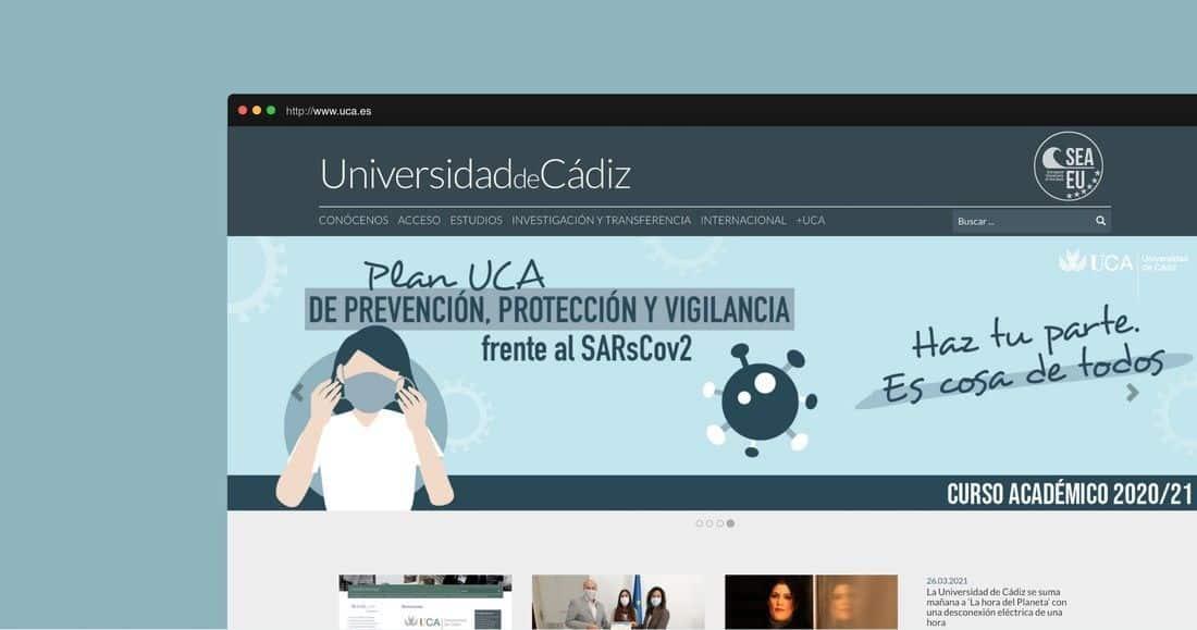 Página web UCA