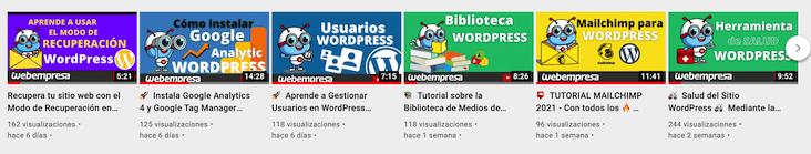 Miniaturas corporativas para crecer en Youtube