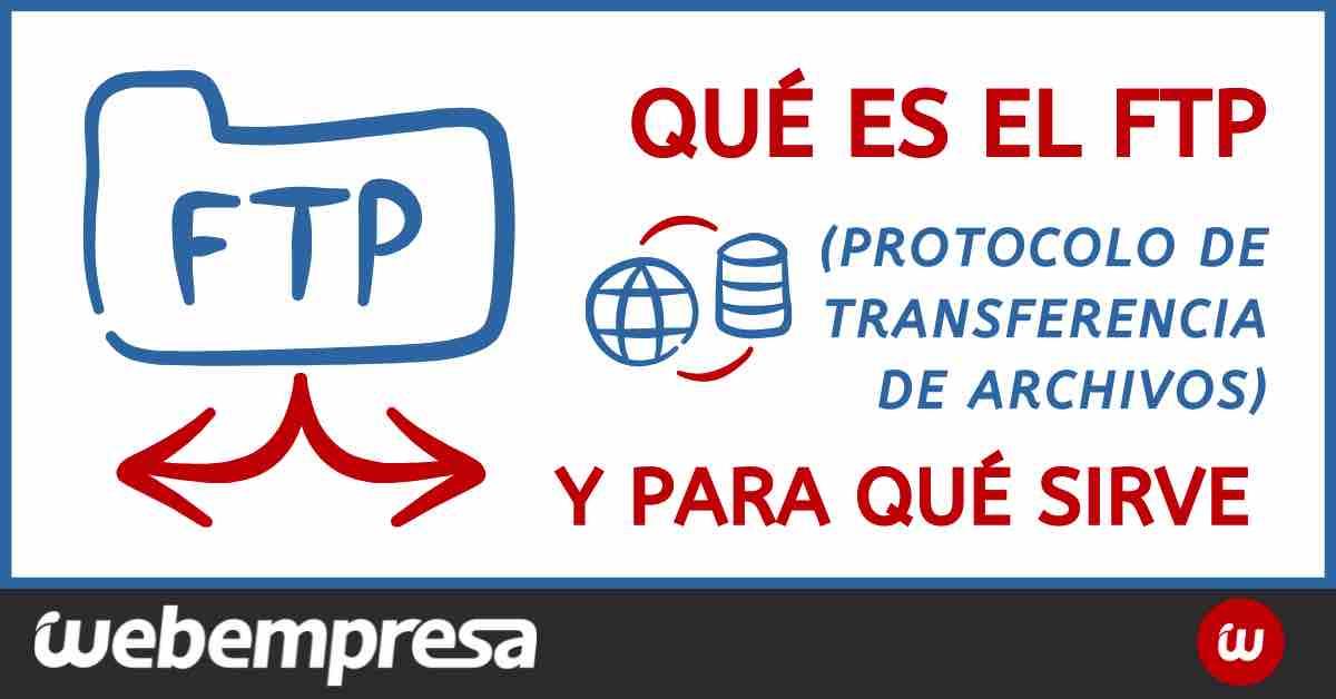Qué es FTP